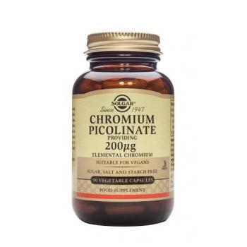 Chromium picolinate 200 mcg 90 tbl SOLGAR