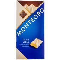 Ciocolata alba fara zahar monteoro
