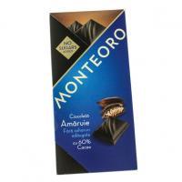 Ciocolata amaruie fara zahar monteoro