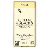 Ciocolata organica alba cu vanilie