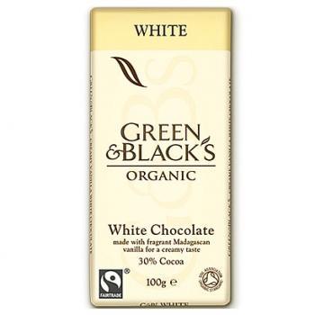 Ciocolata organica alba cu vanilie 100 gr UNICORN NATURALS