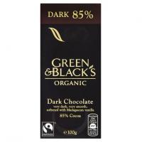 Ciocolata organica neagra 85%