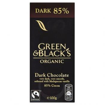 Ciocolata organica neagra 85% 100 gr UNICORN NATURALS