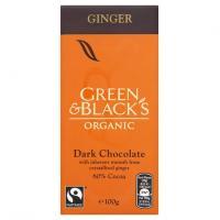 Ciocolata organica neagra cu ghimbir