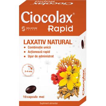 Ciocolax rapid 10 cps SOLACIUM