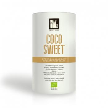 Cipsuri dulci de cocos eco 200 gr RAWBOOST