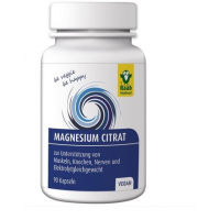 Citrat de magneziu 600mg vegan
