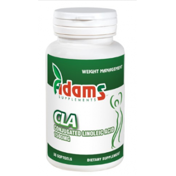 CLA 1500 mg 30 cps ADAMS SUPPLEMENTS