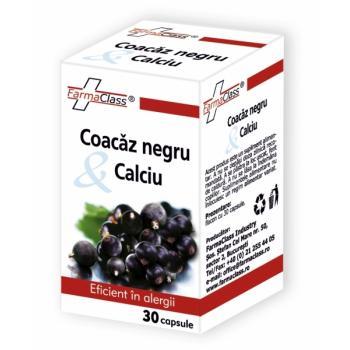 Coacaz negru & calciu 30 cps FARMACLASS