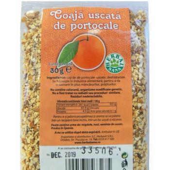 Coaja uscata de portocala 30 gr HERBALSANA