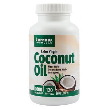 Coconut oil extra virgin 120 cps JARROW FORMULAS