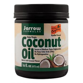 Coconut oil extra virgin 473 ml JARROW FORMULAS