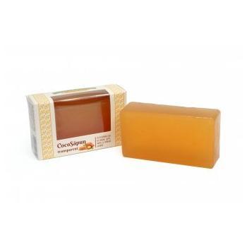 Cocosapun transparent cu lapte miere si parfum asortat 100 gr VERRE DE NATURE