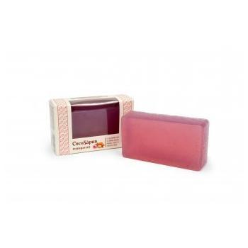 Cocosapun transparent cu migdale dulci si parfum roze 100 gr VERRE DE NATURE