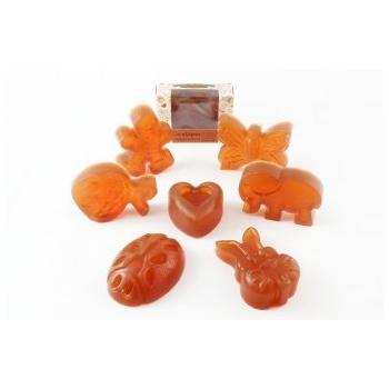 Cocosapun transparent figurine cu extract de catina si  aroma populara 50 gr VERRE DE NATURE