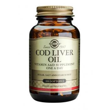 Cod liver oil 100 cps SOLGAR