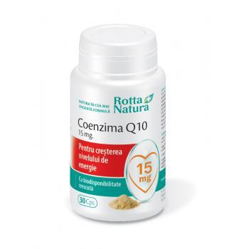 Coenzima Q10 15 mg 30 cps ROTTA NATURA