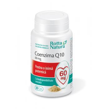 Coenzima Q10 60 mg 30 cps ROTTA NATURA