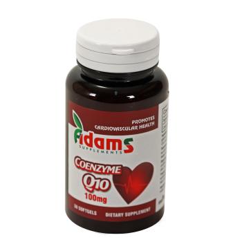 Coenzima q10 30 cps ADAMS SUPPLEMENTS