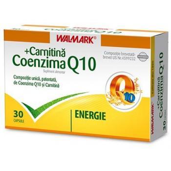 Coenzima q10+ carnitina 30 cps WALMARK