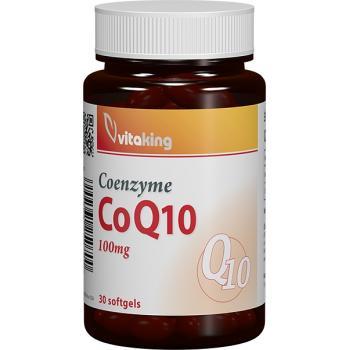 Coenzima q10 naturala 100mg 30 cps VITAKING