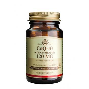 Coenzime q-10 120 mg 30 cps SOLGAR