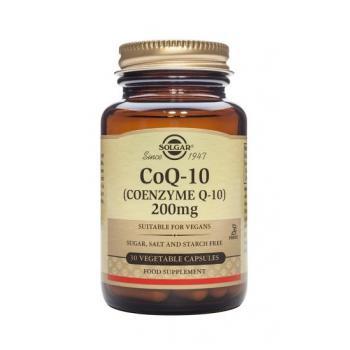 Coenzime q-10 200 mg 30 cps SOLGAR