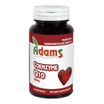 Coenzyme q10 30mg 30 cps ADAMS SUPPLEMENTS