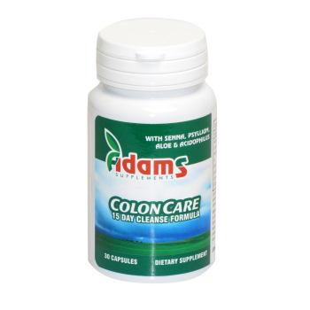 Colon care 30 cps ADAMS SUPPLEMENTS