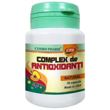Complex de antioxidanti 30 cps COSMOPHARM