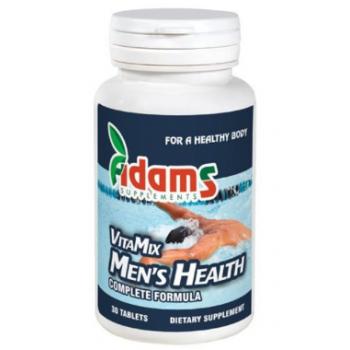 Complex vitamix barbati (multivt&min) 90 cpr ADAMS SUPPLEMENTS