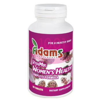 Complex vitamix femei  (multivt&min) 90 cpr ADAMS SUPPLEMENTS