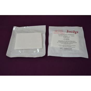 Comprese sterile 10cm x8cm, 50 de straturi 25 gr HELP
