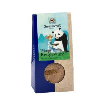 Condiment amestec mirodenii orez a la mrs.wong eco 40 gr SONNENTOR