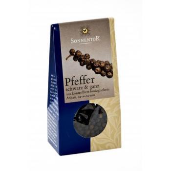 Condiment din boabe de piper negru eco 55 gr SONNENTOR