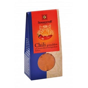 Condiment din chili (macinat) 40 gr SONNENTOR