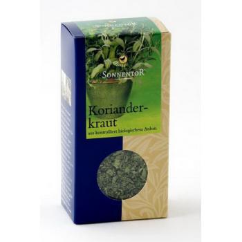Condiment din frunze de coriandru 15 gr SONNENTOR