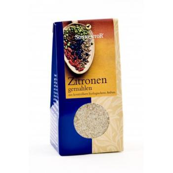 Condiment din lamaie (macinata) 25 gr SONNENTOR
