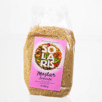Condiment din seminte de mustar  300 gr SOLARIS