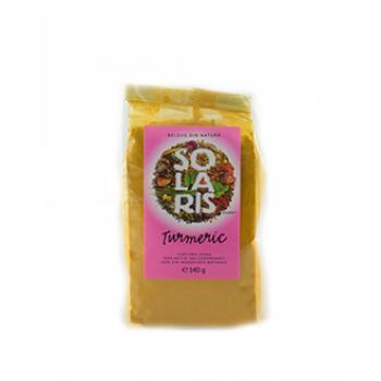 Condiment din turmeric macinat 140 gr SOLARIS