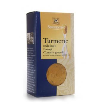 Condiment din turmeric (macinat) 40 gr SONNENTOR