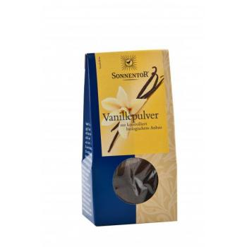 Condiment din vanilie (macinata) 10 gr SONNENTOR