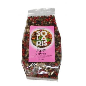 Condiment din varietati de piper 75 gr SOLARIS