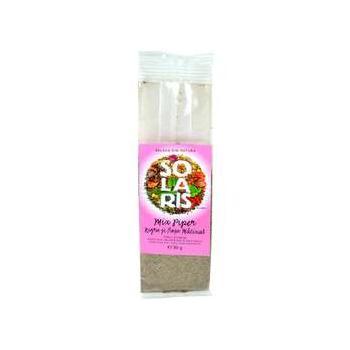 Condiment mix piper negru si rosu macinat  30 gr SOLARIS