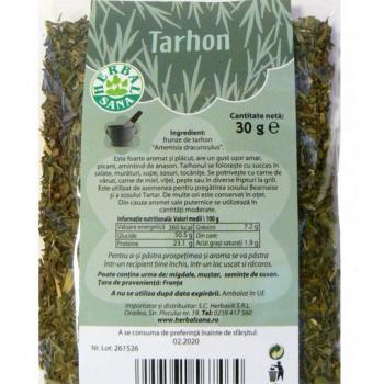Condiment tarhon 30 gr HERBALSANA