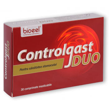 Controlgast duo 30 cpr BIOEEL