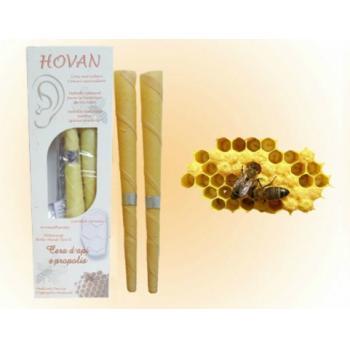 Conuri auricolare ceara de albine (mari) 2 gr HOVAN