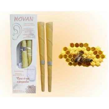 Conuri auricolare ceara de albine si propolis 2 gr HOVAN