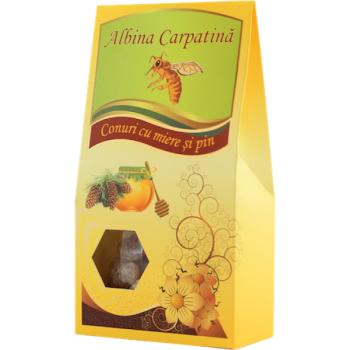 Conuri cu miere si pin 100 gr ALBINA CARPATINA