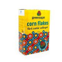 Corn flakes cu green sugar